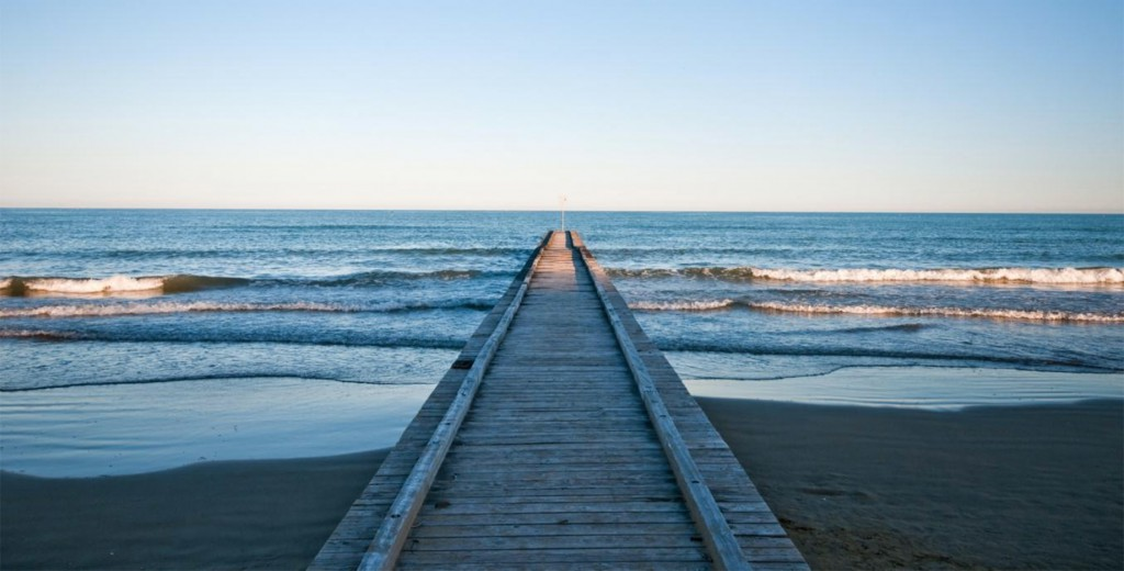 The beaches of Jesolo