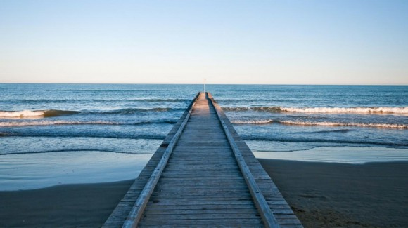 The beaches of Jesolo